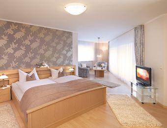 Doppelzimmer Premium mit Balkon - Bio-Hotel Melter