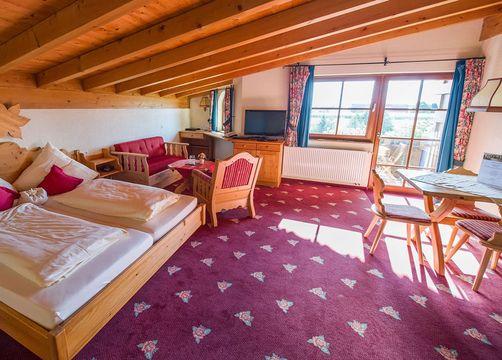 Rose Suite | Organic country hotel garni (1/2) - Naturresort Gerbehof