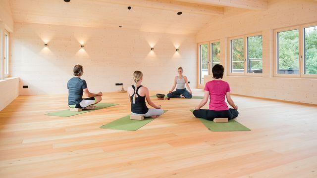 Wellness & Yoga im Biohotel