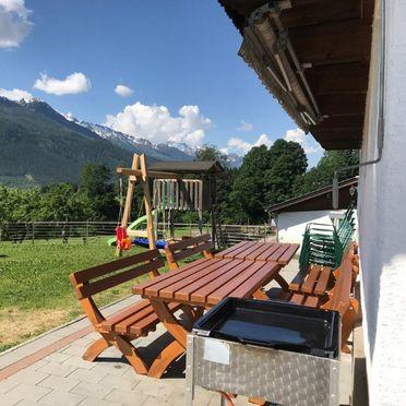 Terrasse, Bauernhaus Hollersbach , Hollersbach, Salzburg, Salzburg, Österreich