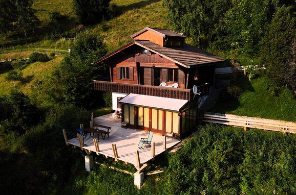 Sommer, Sonnenhütte in Rieding - Koralpe, Lavanttal, Kärnten, Österreich