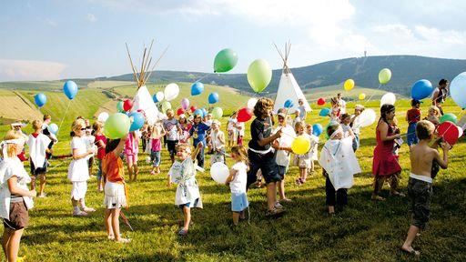 Abwechslungsreiches Erlebnisprogramm für Kinder im Elldus Resort.