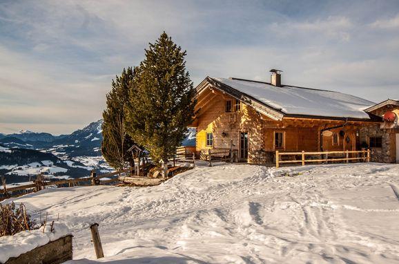 Winter, Steinbergalm in Kitzbühel - Oberndorf in Tirol, Tirol, Tirol, Österreich