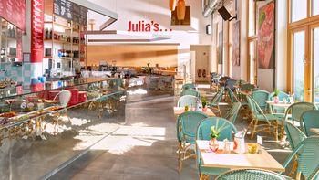3-Gänge-Menü im italienischen Restaurant Julia`s