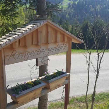 Rengerberg Hütte, Hinweisschild