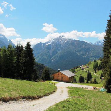 Costetoi Hütte, Aussicht ins Tal