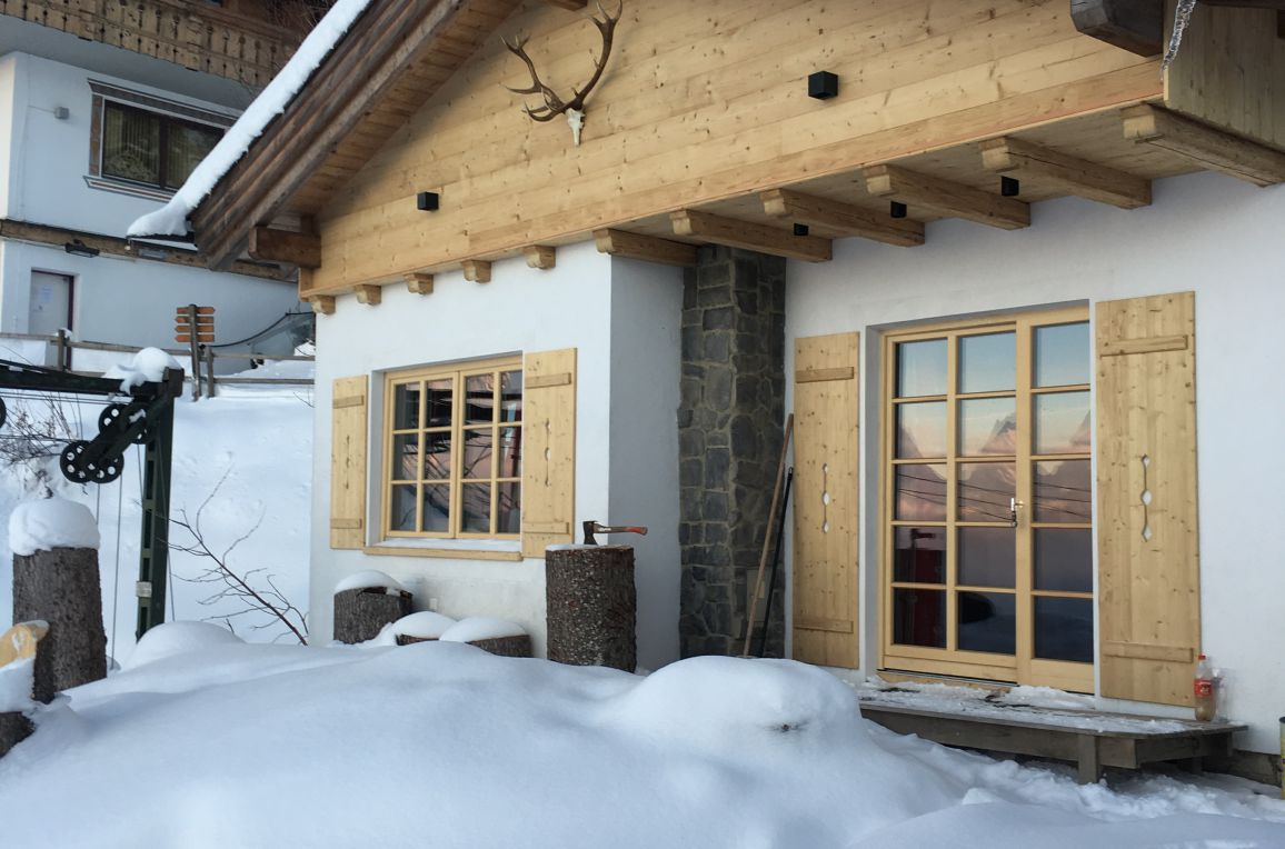 Chalet Friedenalm, winter