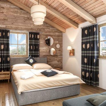 Almdorf Auszeit Fageralm Premium Plus, Symbolfoto Schlafzimmer