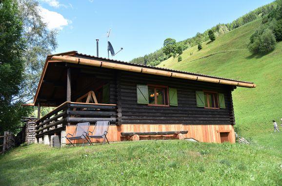 Sommer, Berghütte Ahrntal in St. Johann im Ahrntal, Südtirol, Trentino-Südtirol, Italien