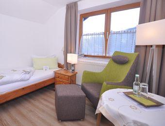 Einzelzimmer Alphorn - Berghüs Schratt