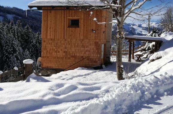 Winter, Achtchalet in Großarl, Salzburg, Salzburg, Austria