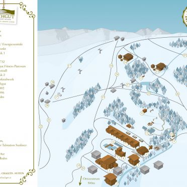 Map winter, Bachgut Luxus Suite A, Saalbach-Hinterglemm, Salzburg, Salzburg, Austria