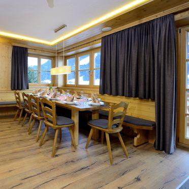 Essbereich, Bachgut Luxus Suite B, Saalbach-Hinterglemm, Salzburg, Salzburg, Österreich