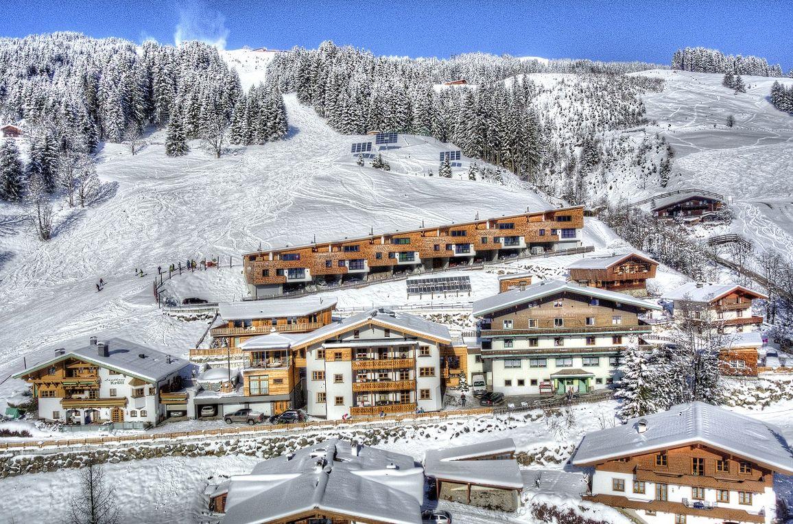 Bachgut Luxus Suite B, Winter