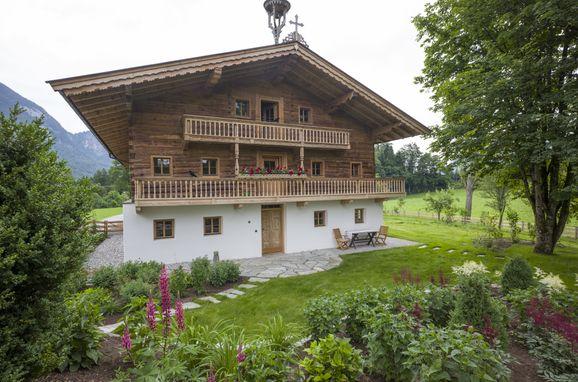 Sommer, Bauernhaus Unterleming, Angerberg, Tirol, Tirol, Österreich