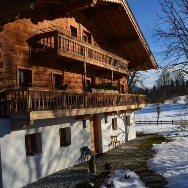 Winter, Bauernhaus Unterleming, Angerberg, Tirol, Tirol, Österreich
