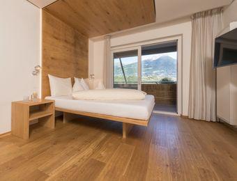 Double view to Merano (for families) - Bio- und Wellnesshotel Pazeider