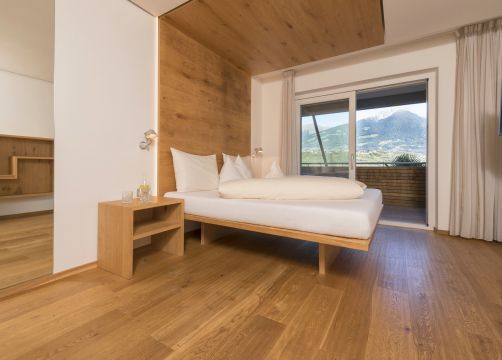 Double view to Merano (for families) (1/3) - Bio- und Wellnesshotel Pazeider