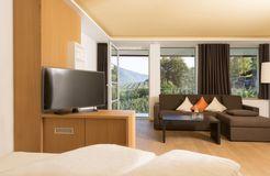 Suite south balcony (3/4) - Bio- und Wellnesshotel Pazeider