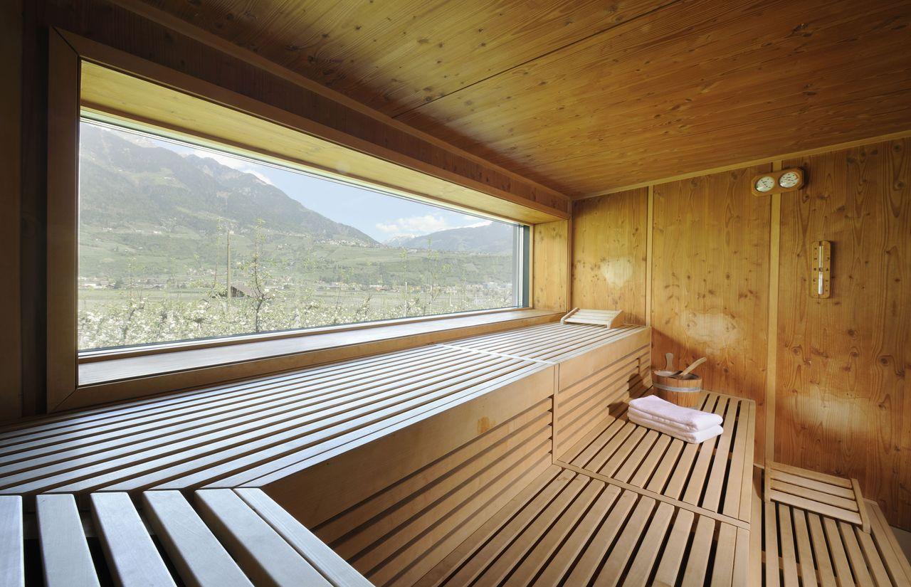 Biohotel Pazeider: Sauna