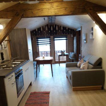 Chalet Mühlegg, Wohnstube/Küche