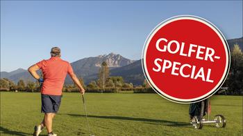 Golfer Special für 2 Personen - 3 Übernachtungen