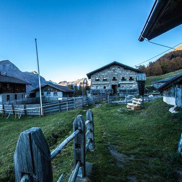 Hoanza Alm, Almhütte Hoanza in Matrei in Osttirol, Tirol, Tyrol, Austria