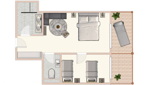 Sonnentraum Suite superior 45m²