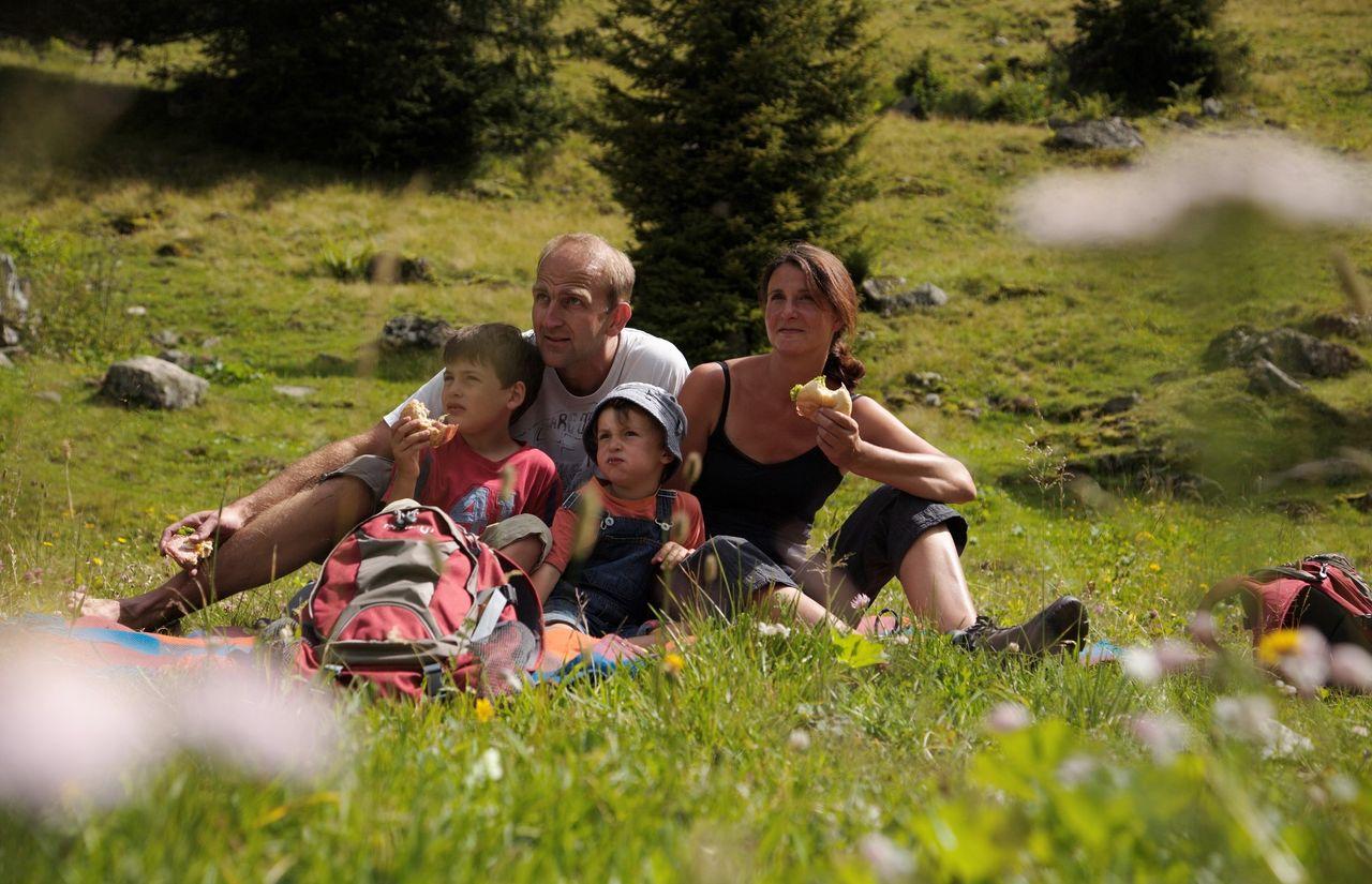 Familienurlaub in der Bergwelt des Montafons