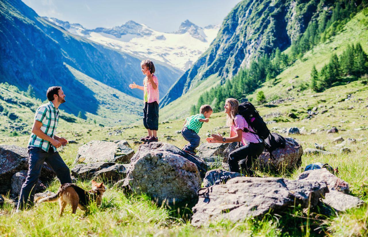 Wandern für Kinder und Eltern