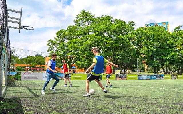 Ahorn Seehotel Templin Fußball