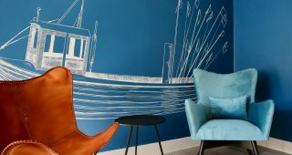 Blau machen im Heimathafen Usedom