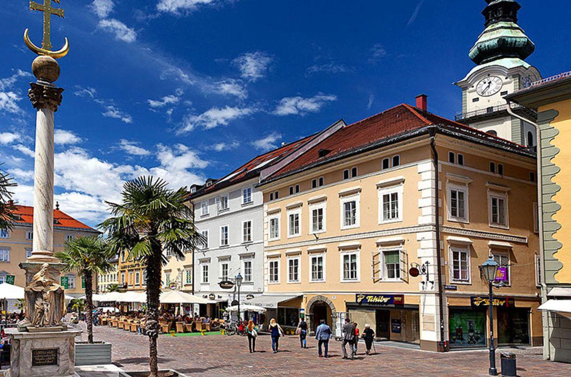 Moderne Innenstadtwohnung Klagenfurt, Sommer