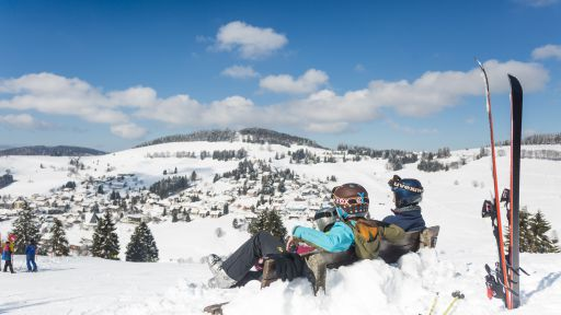 Winter im Schwarzwald bedeutet aber auch Ruhe und Zeit, um sich zu entspannen.