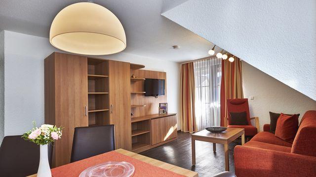 Familienappartement Roseneck    50 qm - 3 Raum