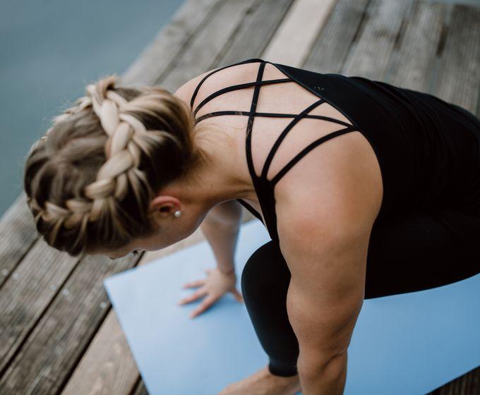 Yoga-Auszeit am See im September
