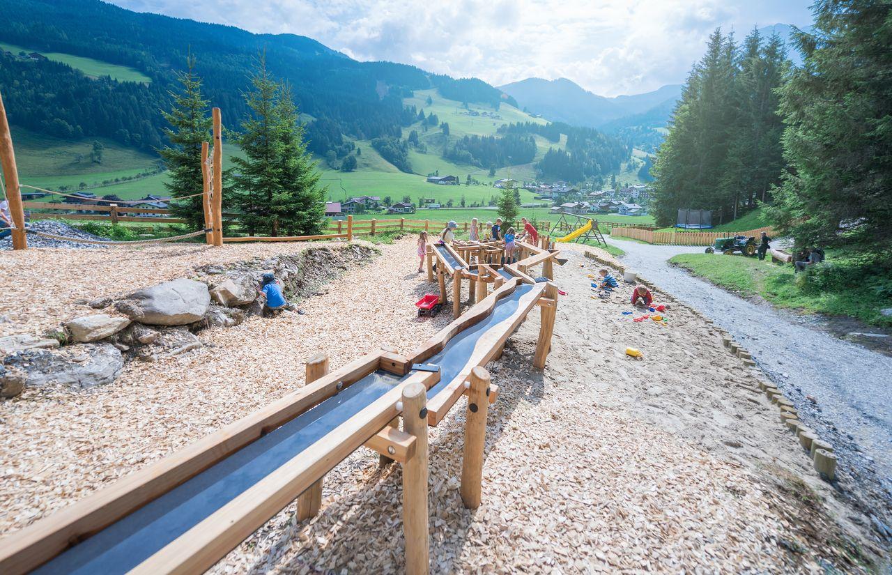 Ein Paradies für Kinder in Kleinarl, Salzburg