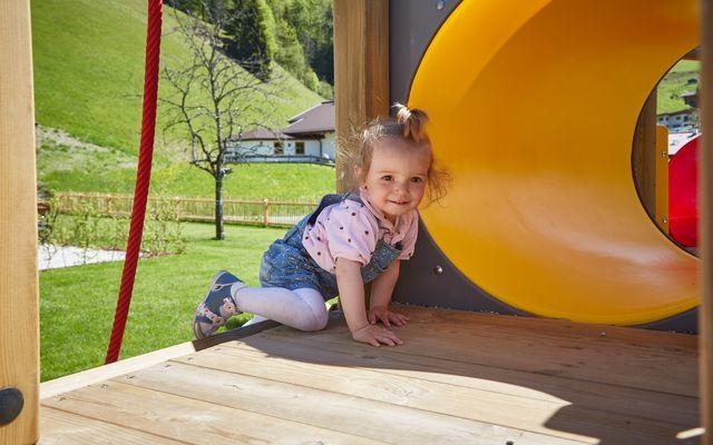 Kinderspielplatz im Freien