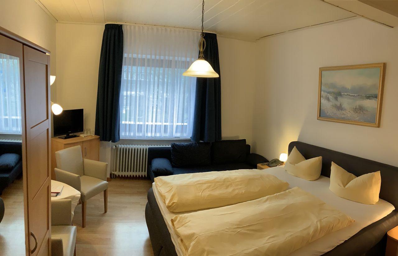 Zimmer des Nordsee-Familienhotels Strandhof