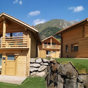 Summer, Chalets Lagaun, Schnalstal, Südtirol, Alto Adige, Italy