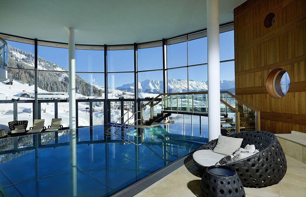 Alpine Spa im 5-Sterne-Wellnesshotel Tirol