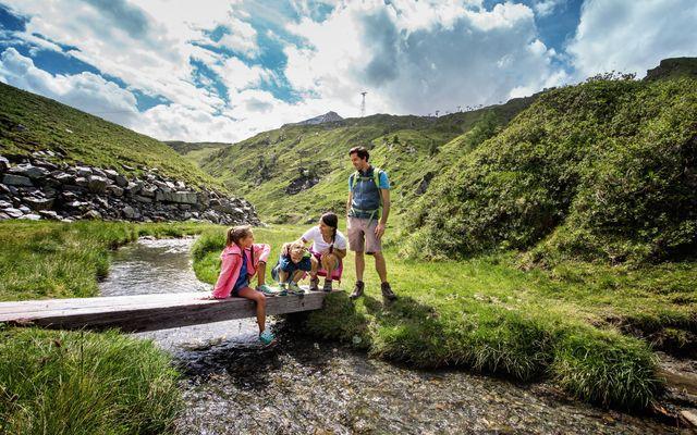 Kitzsteinhorn Wandern mit der Familie