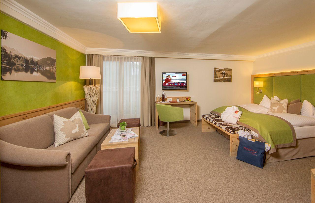 Zimmer des Familienhotel Alpenblick