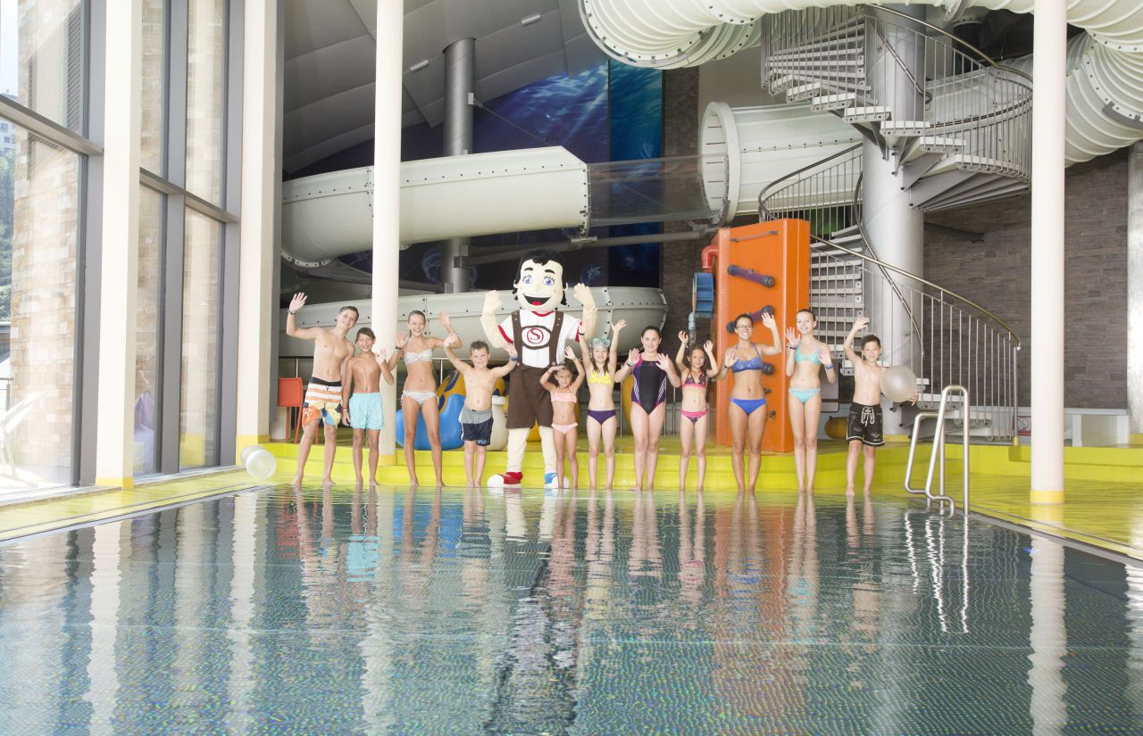 Aqua Fun Park im STOCK resort Finkenberg