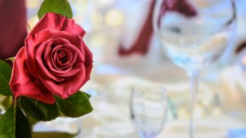 Romantique avec un facteur de picotement