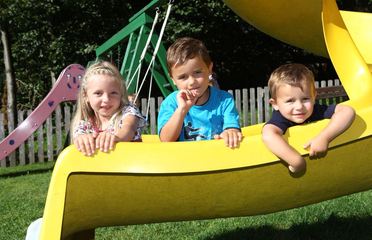 Spielplatz auch für Kleinkinder