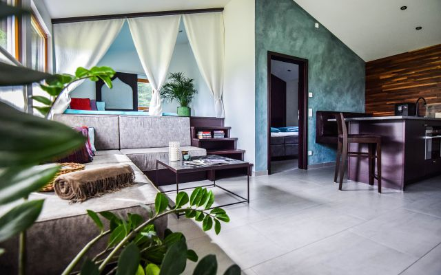 BIO HOTEL 7 Sentidos: Casitas