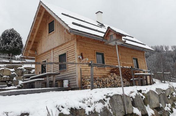 Winter, Götschlhütte, Reichenfels, Kärnten, Kärnten, Österreich