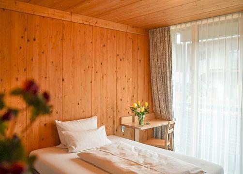 Gallery - Single Room (1/2) - Bio Hotel und Restaurant Seehörnle
