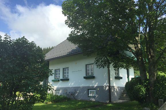 Kramasuri Hütte, Sommer